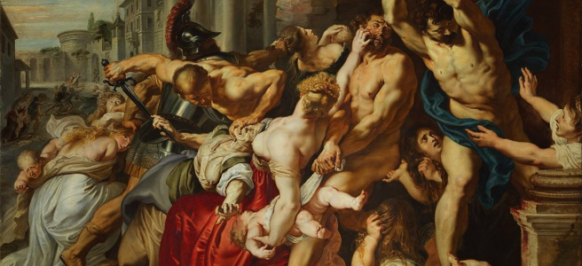 The Massacre of the Innocents by Peter Paul Rubens, 1611-12
